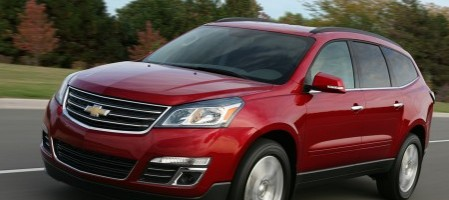 chevrolet traverse, une transformation aboutie