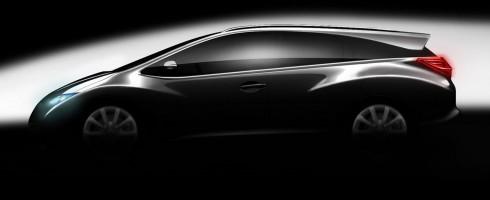 Honda Civic : voiture féminine bientôt en break
