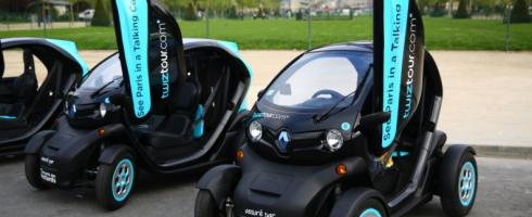 Twiztour : découvrez la capitale en Renault Twizy