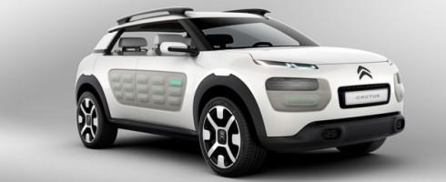 Le Citroën Cactus commercialisé l'an prochain ?
